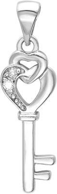 Кулоны, подвески, медальоны Серебро России 30914BR-33273 ювелирные подвески серебро россии подвеска