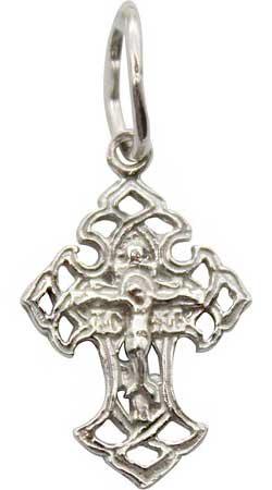 Крестики и иконки Серебро России 40-024R-32879