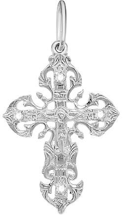 Крестики и иконки Серебро России 40-049R-31951