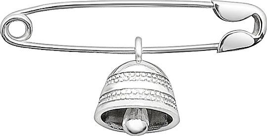 Броши Серебро России B-002R-36207
