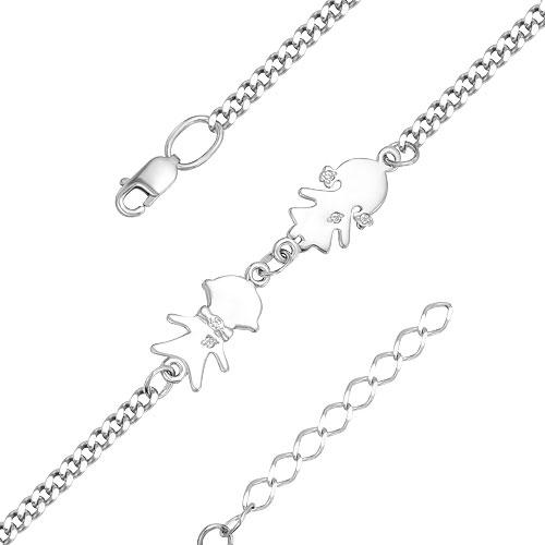 Браслеты Серебро России BR-002-47175