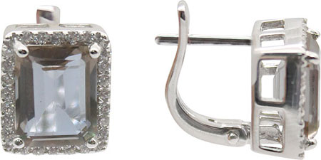 Серьги Серебро России E-1076R-68948 серьги серебро россии 2 050r110 68653