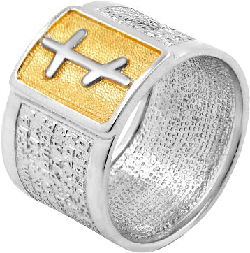 Кольца Серебро России K-0004RZ-56442