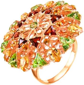 Кольца Серебро России K-110340Z406040596-53532 кольца серебро россии k 063 61080