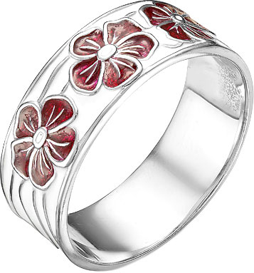 все цены на Кольца Серебро России K-3134R-48276 онлайн