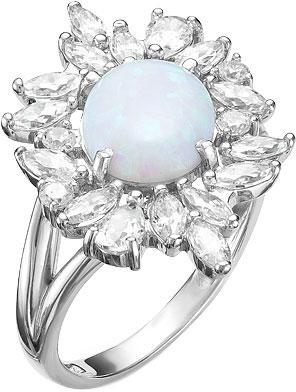 Кольца Серебро России K-3390RK77200-61129 кольца серебро россии k 3054r13 45902