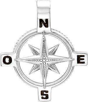 Кулоны, подвески, медальоны Серебро России P-032JE-42031