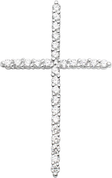 Крестики и иконки Серебро России P-035-1-74551