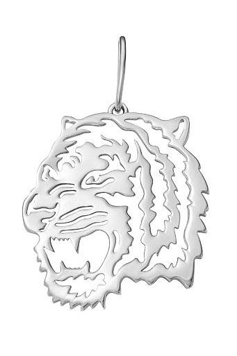 Кулоны, подвески, медальоны Серебро России P-1025R-28736 ювелирные подвески серебро россии подвеска