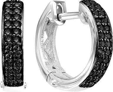 Серьги Серебро России S-7189R216-65668 серьги серебро россии s 1361003rz80400 57055