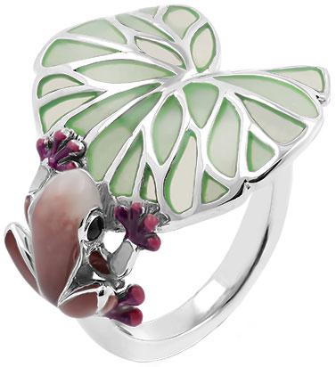 Кольца Серебро России SE2681-R-2-74374 кольца серебро россии r 1045r403 69072