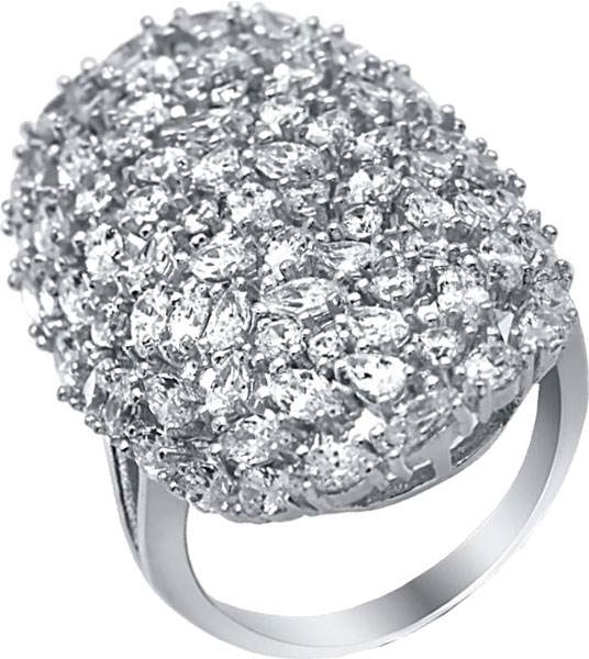 Кольца Silver Wings 01QRGLG02340a-19 lekani svr009 925 sterling silver ring silver