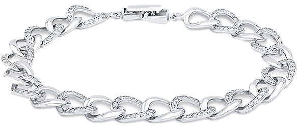 Фото - Браслеты Silver Wings 04QXB356-198 жен браслет разомкнутое кольцо стерлинговое серебро мода браслеты серебряный назначение