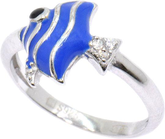 Кольца Silver Wings 211SE60123c-119 женские кольца jv женское серебряное кольцо с куб циркониями sl31044a1 002 wg 17