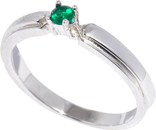 Кольца silver wings 21qrmmi00165-19-zelenyj-kvarc