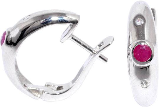 Серьги Silver Wings 22GRE1389-69