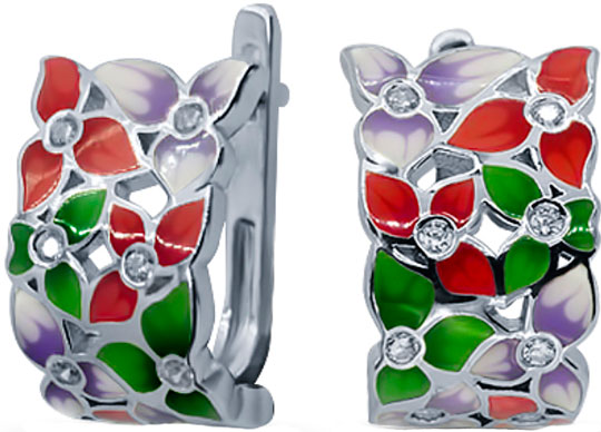 Серьги Silver Wings 22QSJSS00667mix-19 silver wings silver wings цепь ср925р 107007055