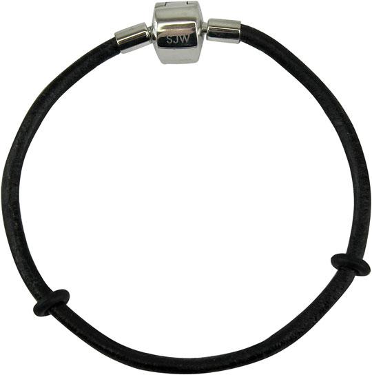 Браслеты SJW BB003 муж кожаные браслеты браслет кожа уникальный дизайн на каждый день кожаный браслеты черный коричневый назначение новогодние подарки