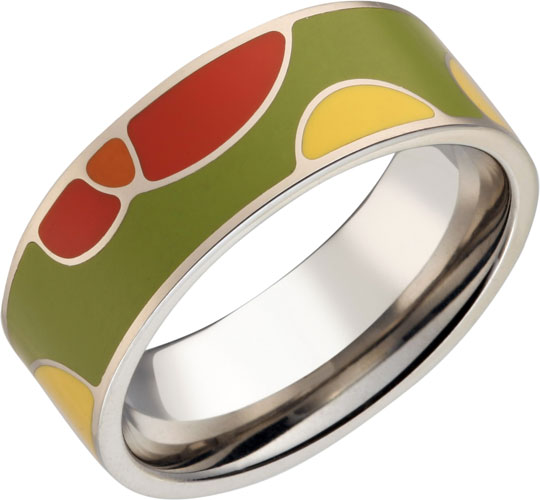 Кольца SJW RS023 кольцо стальное традиционное узкое