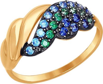 Кольца SOKOLOV 017270_s sokolov женское золотое кольцо с куб циркониями nd017142 16