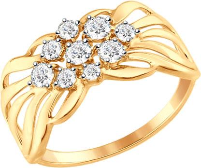 Золотые кольца Кольца SOKOLOV 017341_s фото