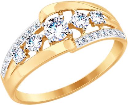 Золотые кольца Кольца SOKOLOV 017638_s фото