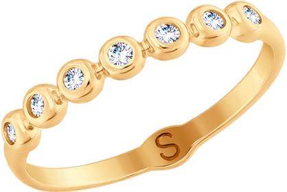 Золотые кольца Кольца SOKOLOV 017708_s фото