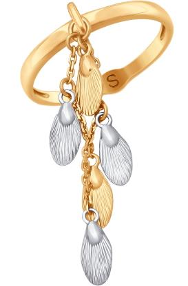 Кольца SOKOLOV 017769_s_17-5 золотые кольца высокой пробы