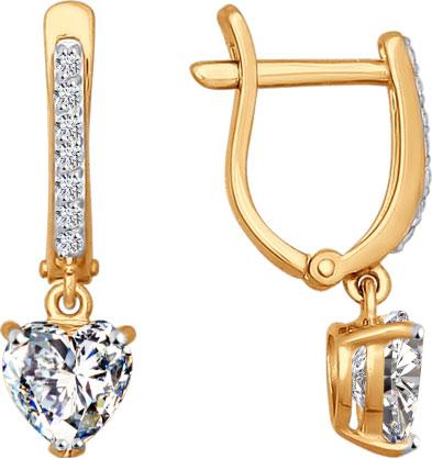 Серьги SOKOLOV 026901_s sokolov золотые серьги с куб циркониями nd027139