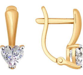 Серьги SOKOLOV 026923_s sokolov золотые серьги с куб циркониями nd027139