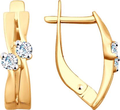 Серьги SOKOLOV 027758_s золотые кольца высокой пробы
