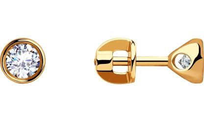 Серьги SOKOLOV 028254_s yoursfs новый дизайн серьги серьги серьги серьги для женщин девочек высокое качество