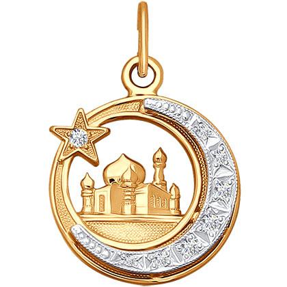 Кулоны, подвески, медальоны SOKOLOV 030044_s