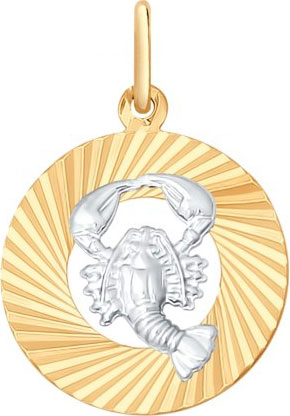 Кулоны, подвески, медальоны SOKOLOV 031368_s