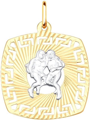 Кулоны, подвески, медальоны SOKOLOV 031636_s