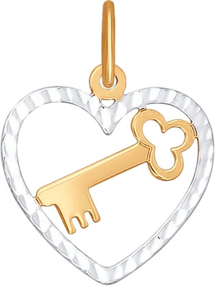 Кулоны, подвески, медальоны SOKOLOV 033264_s ювелирные подвески sokolov подвеска