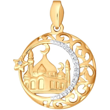 Кулоны, подвески, медальоны SOKOLOV 034443_s