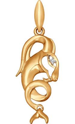 Кулоны, подвески, медальоны SOKOLOV 034723_s ювелирные подвески sokolov подвеска