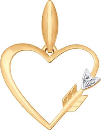 Кулоны, подвески, медальоны SOKOLOV 034791_s кулоны подвески медальоны sokolov 6049006 s