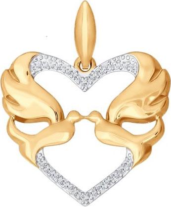 Кулоны, подвески, медальоны SOKOLOV 034795_s кулоны подвески медальоны sokolov 035318 s