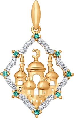 Кулоны, подвески, медальоны SOKOLOV 034824_s
