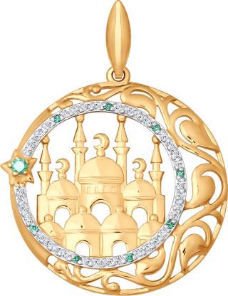 Кулоны, подвески, медальоны SOKOLOV 034825_s