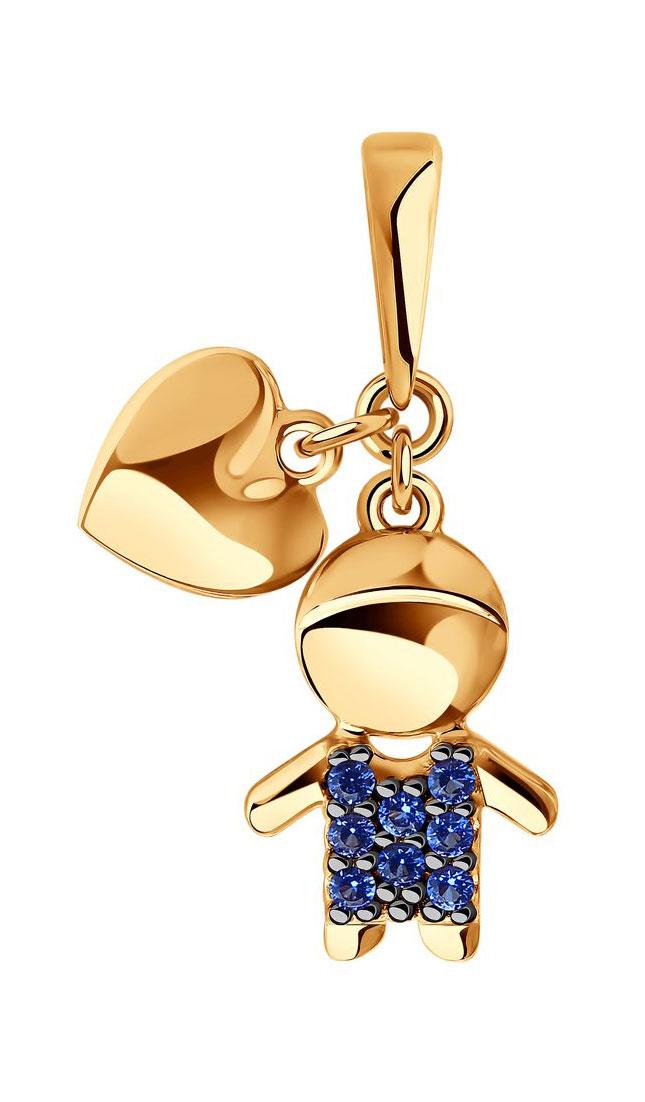 Кулоны, подвески, медальоны SOKOLOV 034908_s