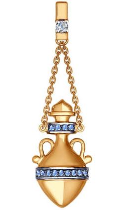 Кулоны, подвески, медальоны SOKOLOV 035038_s кулоны подвески медальоны sokolov 035318 s