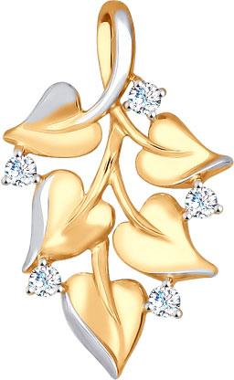 Кулоны, подвески, медальоны SOKOLOV 035041_s кулоны подвески медальоны sokolov 035318 s