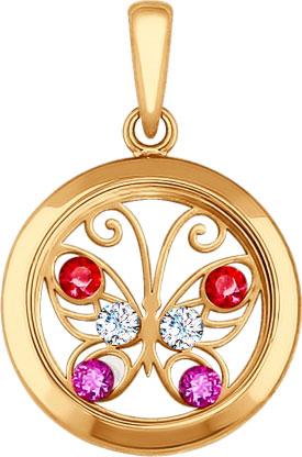 Кулоны, подвески, медальоны SOKOLOV 035061_s