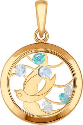 Кулоны, подвески, медальоны SOKOLOV 035062_s кулоны подвески медальоны sokolov 731345 s