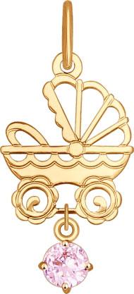 Кулоны, подвески, медальоны SOKOLOV 035098_s