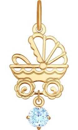 Кулоны, подвески, медальоны SOKOLOV 035099_s