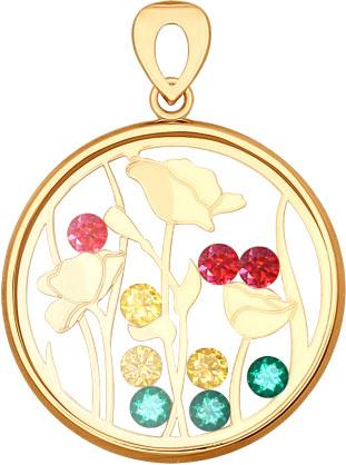 Кулоны, подвески, медальоны SOKOLOV 035101_s кулоны подвески медальоны sokolov 6049006 s